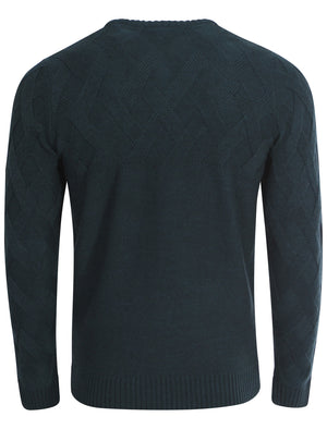 Tokyo Laundry Connolly Teal Jumper