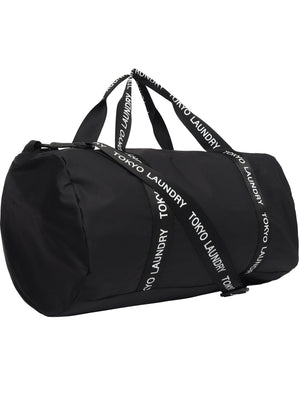 Core Holdall Gym Bag in Black – Tokyo Laundry
