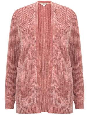 Corin Batwing Chenille Knitted Cardigan in Damask Pink – Tokyo Laundry