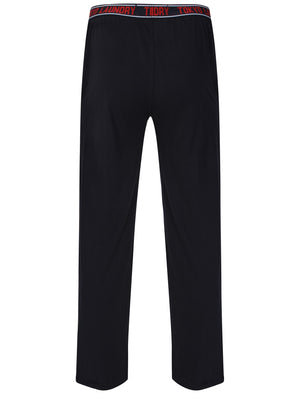 Corsham Jersey Lounge Pants in Dark Navy