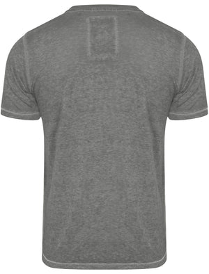 Danbury Park Burnout T-Shirt in Pewter Grey – Tokyo Laundry