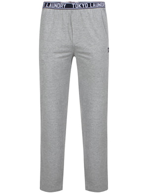 Danville Lounge Pants in Light Grey Marl - Tokyo Laundry