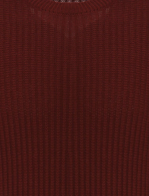 Le Shark Doran oxblood  jumper