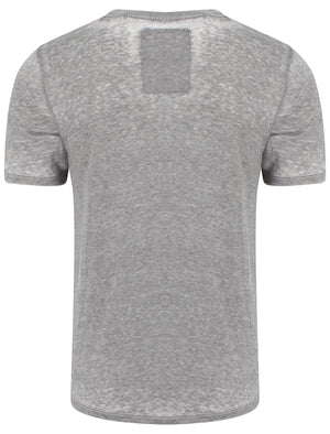 Downtown Brooklyn T-shirt in Pewter - Tokyo Laundry