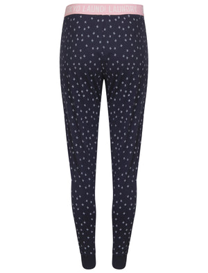 Elise Bird Printed Cotton Lounge Pants in Navy – Tokyo Laundry