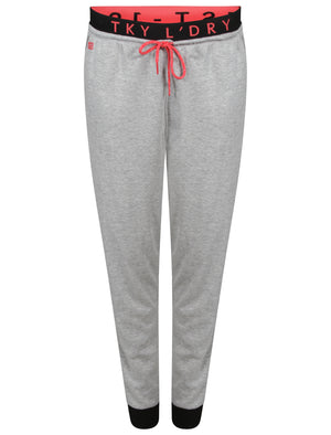 Ennis Cuffed Joggers in Light Grey Marl – Tokyo Laundry Active