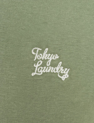 Essentials (3 Pack) Crew Neck Cotton T-Shirts In Ash Mauve / Green Bay / Kentucky Blue – Tokyo Laundry