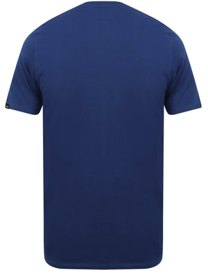 Essentials (3 Pack) V Neck Cotton T-Shirts In Washed Red / Sodalite Blue / Ice Grey Marl - Tokyo Laundry