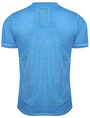 Fernbrook Burnout T-Shirt in Blue Sea – Tokyo Laundry