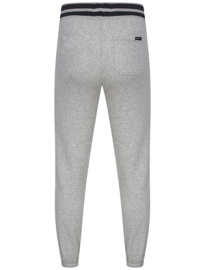Cuffed Joggers in Light Grey Marl - Tokyo Laundry