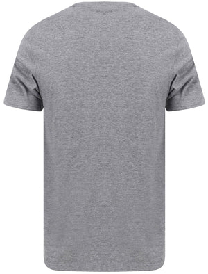 Fox Motif Cotton Jersey T-Shirt In Mid Grey Marl – Tokyo Laundry