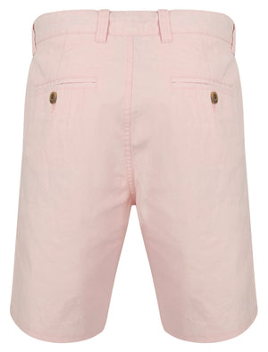 Ginak Essential Cotton Twill Chino Shorts in Blushing Pink – Tokyo Laundry