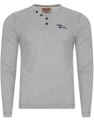 Glen Valley Long Sleeve T-Shirt in Light Grey Marl – Tokyo Laundry