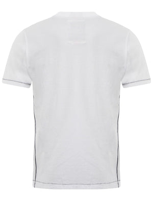 Tokyo Laundry Goods & Supply Crew Neck T-Shirt in Optic White