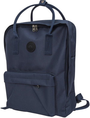 Gosling Classic Canvas Backpack In Navy - Tokyo Laundry