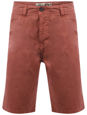 Tokyo Laundry Gustave Red Chino Shorts