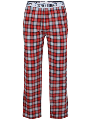Half Moon Bay Lounge Pants in Red - Tokyo Laundry