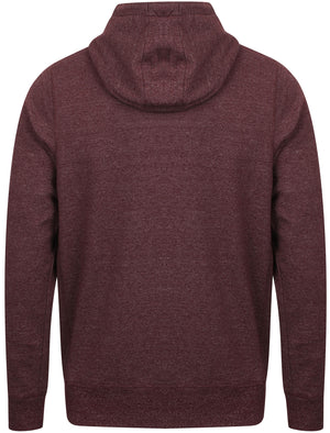 Hampton Brush Back Fleece Zip Through Hoodie In Wine Tasting – Tokyo Laundry