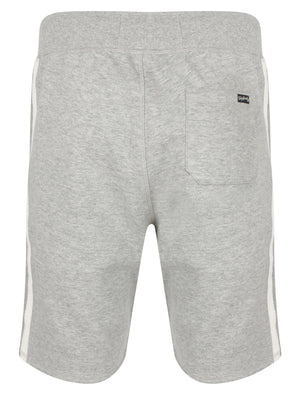 Hayden Creek Brush Back Fleece Jogger Shorts In Light Grey Marl – Tokyo Laundry
