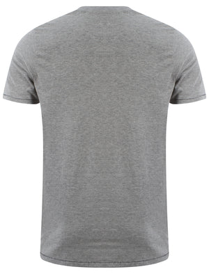 Tokyo Laundry Hermosa Cove t-shirt in Lt Grey Marl