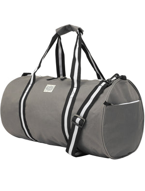 Highland Holdall Canvas Gym Bag in Mid Grey – Tokyo Laundry