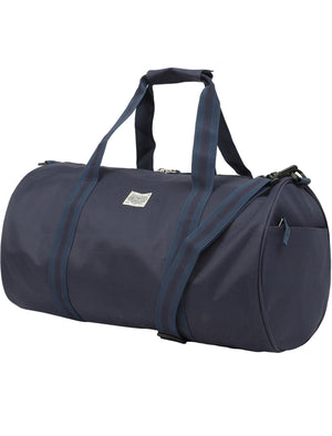 Highland Holdall Canvas Gym Bag in Sky Captain Navy – Tokyo Laundry