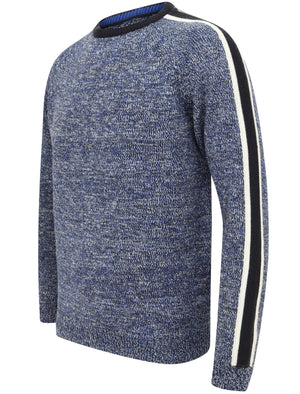 Mens Tokyo Laundry Ribbed Knit Crew Neck Long Sleeve Jumper Sweater Size S-XXL