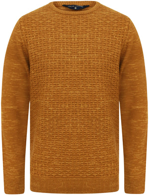Howth Wool Blend Woven Knitted Jumper in Mustard – Tokyo Laundry