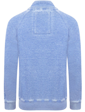 Jasperville Funnel Neck Zip Through Hoodie in Cornflower Blue – Tokyo Laundry