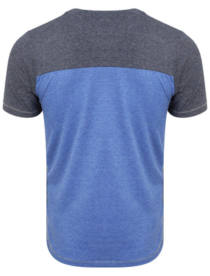 Jefferson Lake T-shirt in Mood Indigo Marl – Tokyo Laundry