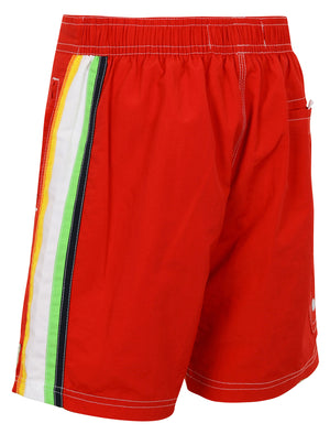Boys K-Alroy Swim Shorts in Firebrick Red – Tokyo Laundry Kids