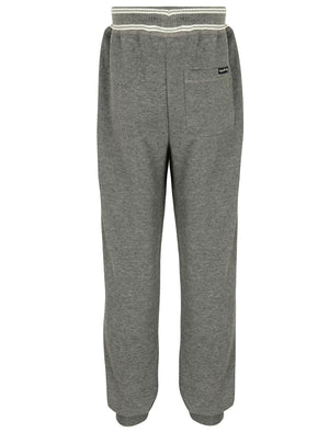 Boys K-Bellevue Point Cuffed Joggers in Mid Grey Marl - Tokyo Laundry Kids
