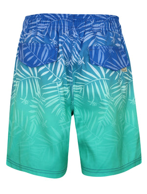 Boys K-Cleopas Tropical Swim Shorts in Blue / Green Ombre – Tokyo Laundry Kids