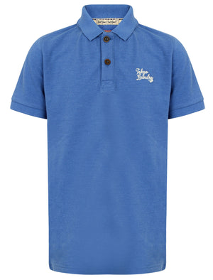 Boys K-Florenzi Polo Shirt in Cornflower Blue – Tokyo Laundry Kids
