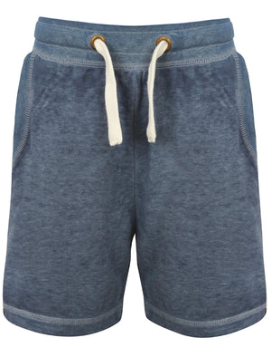 Boys K-Garnet Burnout Sweat Shorts in Vintage Indigo – Tokyo Laundry Kids