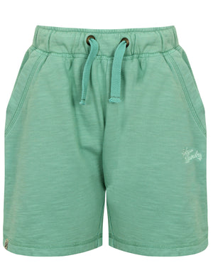 Boys K-Gasper Slub Sweat Shorts in Washed Light Green – Tokyo Laundry Kids