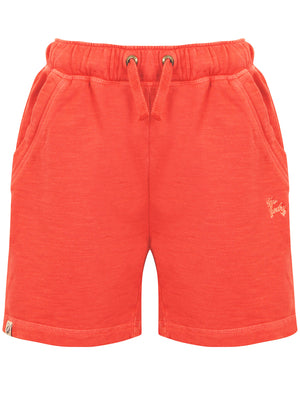 Boys K-Gasper Slub Sweat Shorts in Washed Paprika – Tokyo Laundry Kids