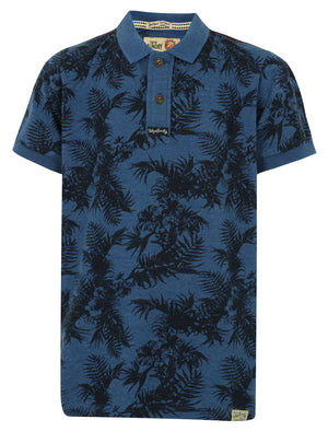 Boys K-Randle Tropical Polo Shirt in Vintage Indigo – Tokyo Laundry Kids