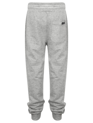 Boys K-Red Lake Falls Cuffed Joggers in Light Grey Marl – Tokyo Laundry Kids
