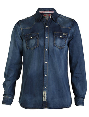 Keitel Brush Rubbed Denim Shirt