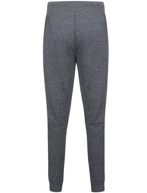 Kelso Cuffed Jersey Lounge Pants in Navy Marl Fleck - Tokyo Laundry