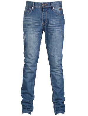 Mens Tokyo Laundry Komodo Distressed Jeans