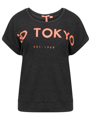 Leroux Cotton Jersey T-Shirt in Mid Grey – Tokyo Laundry Active