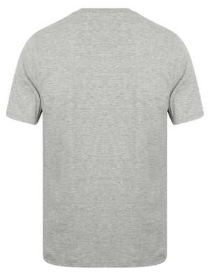 Lowe (3 Pack) V Neck Cotton T-Shirts in White / Grey Marl / Black - Tokyo Laundry