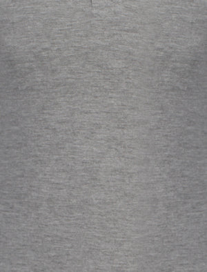 Tokyo Laundry Lowell long sleeved polo in grey