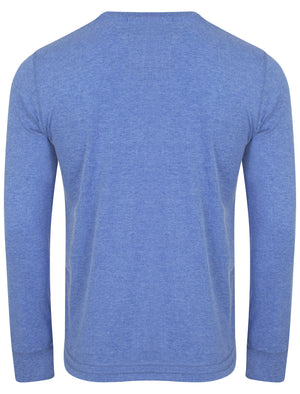 Maple Hill Print Sweatshirt in Cornflower Blue Marl – Tokyo Laundry