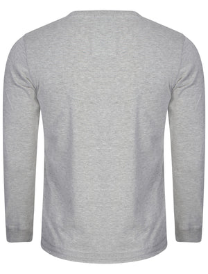 Long Sleeved Printed Top in Light Grey Marl – Tokyo Laundry