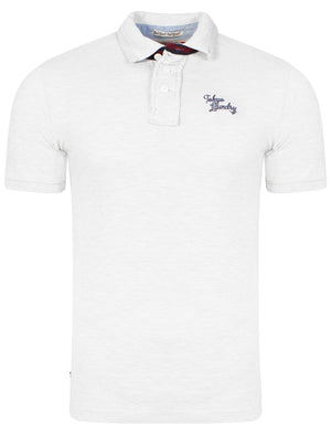 Mora Cove Polo Shirt in Optic White - Tokyo Laundry