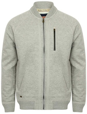 Naple Pines Jersey Bomber Jacket in Light Grey Marl – Tokyo Laundry