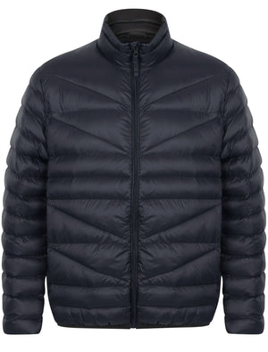 Naylor Funnel Neck Quilted Jacket in True Navy – Tokyo Laundry